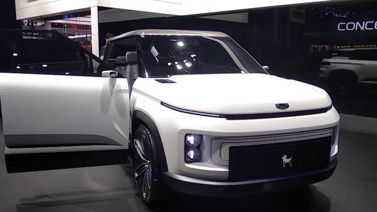صور | عملاق صناعة السيارات Geely تستعدلإطلاق سيارة دفع رباعيجديدة