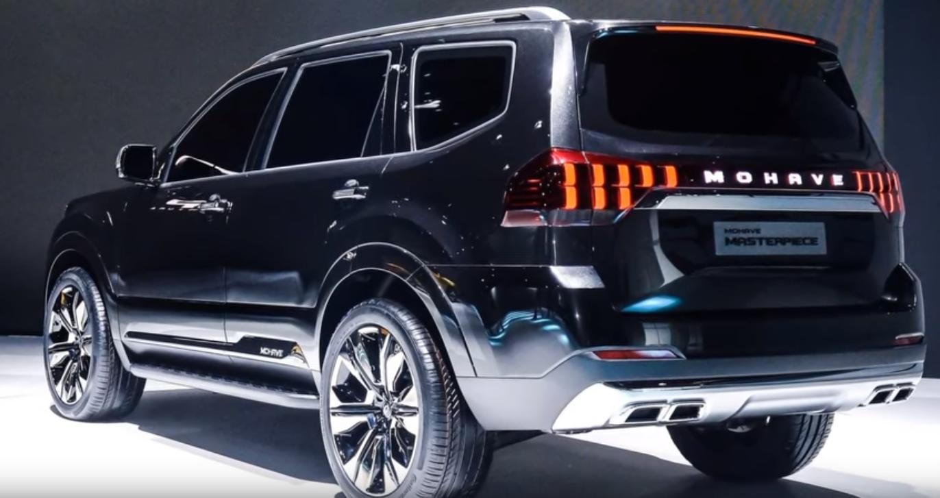 «كيا» تستعرضنموذجها الجديد من سيارات «Mohave» رباعية الدفع