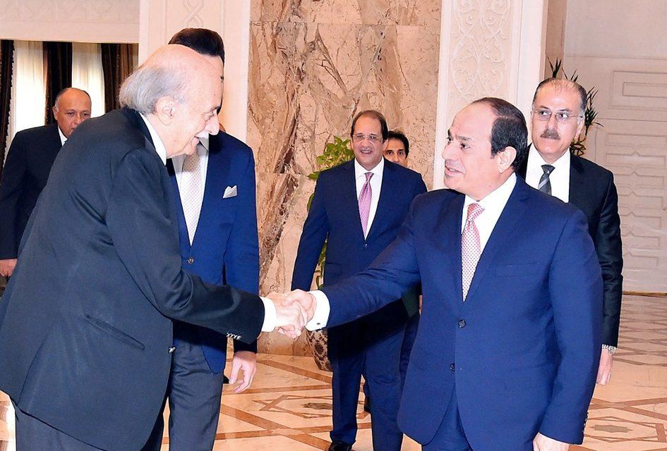 الصحف تبرز تأكيد الرئيس السيسي حرص مصر على سلامة وأمن واستقرار لبنان
