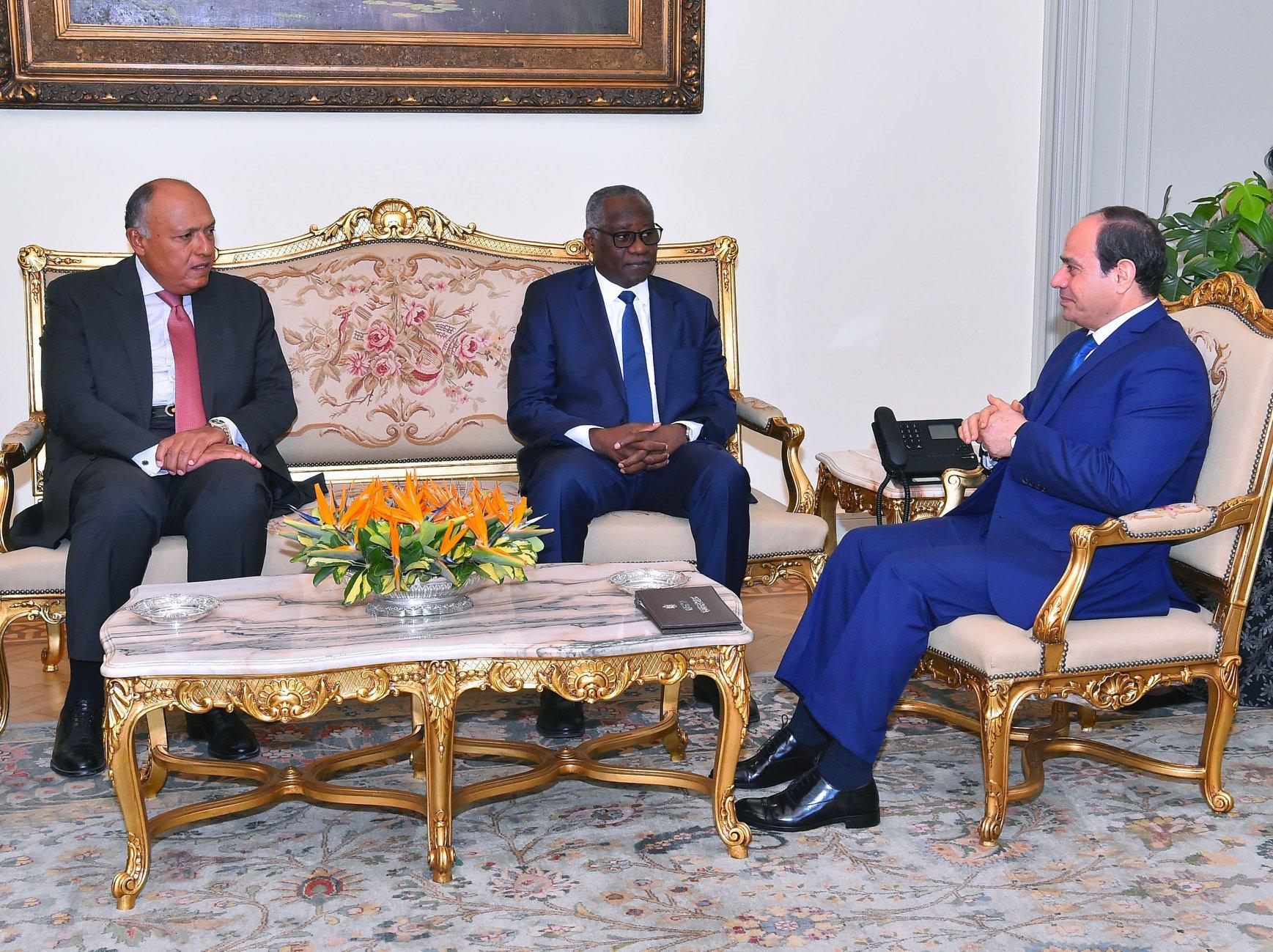 الرئيس السيسي : مصر تولى اهتمامًا كبيرًا لصون السلم والأمن وتحقيق الاستقرار بأفريقيا