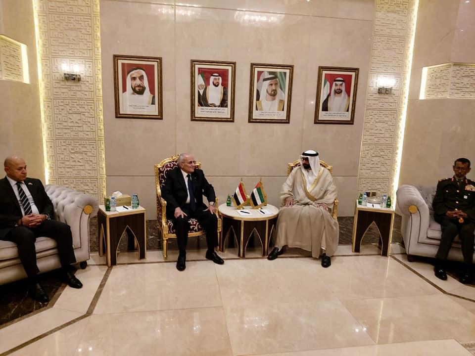 صور | وزير الإنتاج الحربي يبحث تعزيز العلاقات المشتركة مع الإمارات