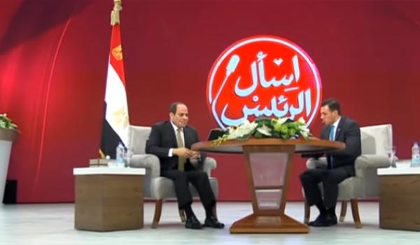 الرئيس السيسي : نعمل على تأسيس منظومة تعليم تعيد صياغة الشخصية المصرية