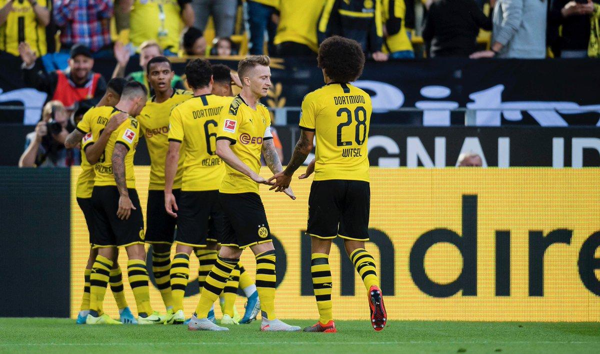 صور | دورتموند يفوز على باير ليفركوزن برباعية نظيفة في الدوري الألماني