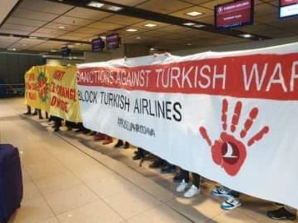 اغلاق مكاتب الخطوط التركية2