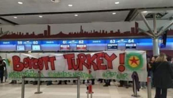 اغلاق مكاتب الخطوط التركية3