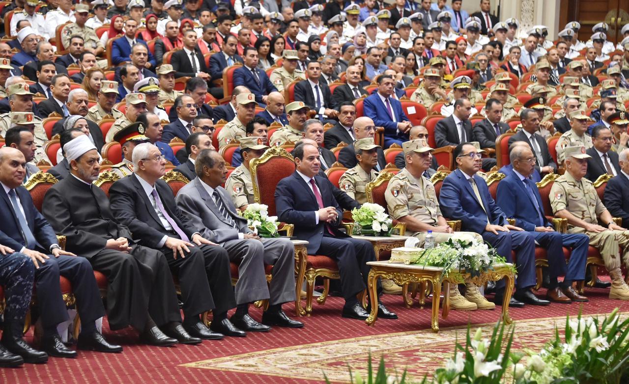 صور| تفاصيل الندوة التثقيفية الـ 31 للقوات المسلحة بحضور الرئيس السيسي