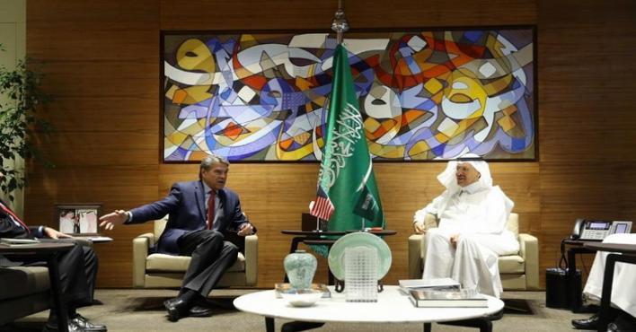 وزيرا الطاقة السعودي والأمريكي يبحثان ضمان أمن إمدادات الطاقة العالمي