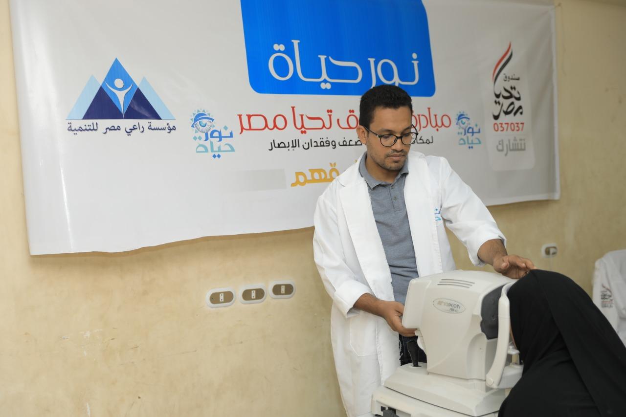 """صندوق تحيا مصر و مؤسسة راعي مصر للتنمية تطلقان قوافل طبية للمبادرة الرئاسية """"نور حياة"""""""