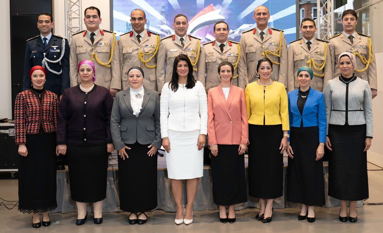 صور| ملحقية الدفاع المصرية في بريطانيا تحتفل بالذكري 46 لانتصارات حرب أكتوبر