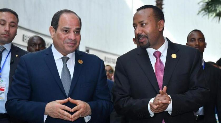 الرئيس السيسي يلتقى رئيس وزراء إثيوبيا على هامش قمة أفريقيا – روسيا