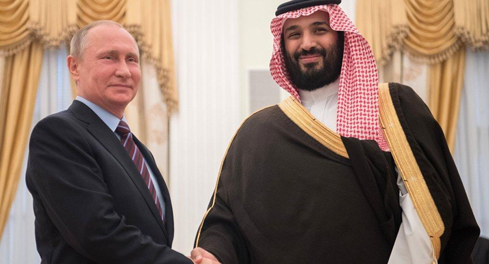"""الرئيس الروسي يشيد بدور ولي العهد السعودي في اتفاق """"أوبك+"""""""