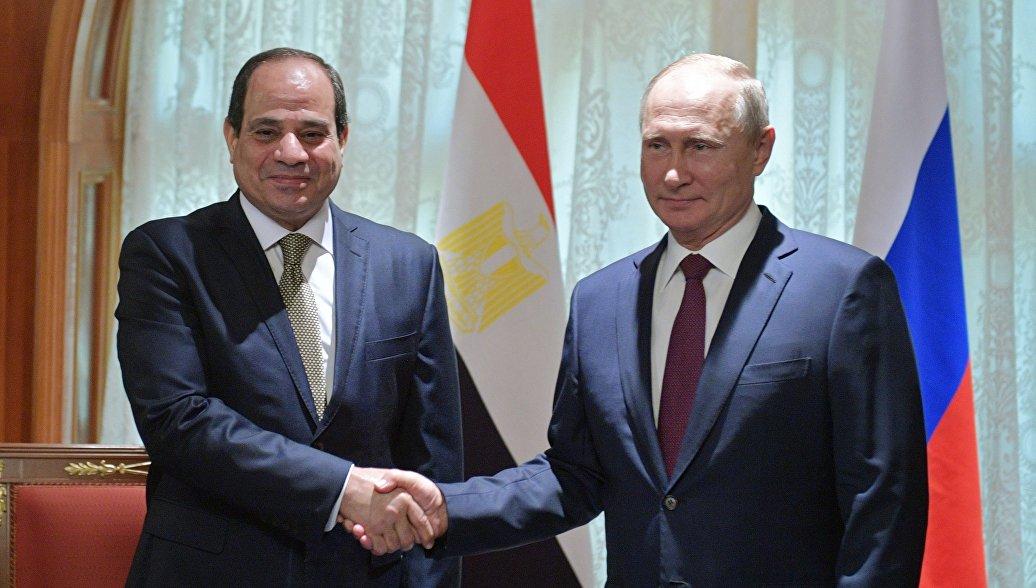 الرئيس السيسي: نتطلع إلى مساهمة روسيا في جهود التنمية بأفريقيا
