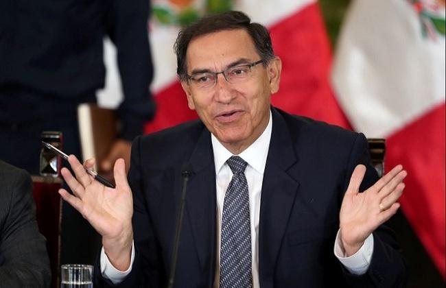 رئيس بيرو مارتن فيزكار سيخضع للتحقيق عند نهاية ولايته العام المقبل