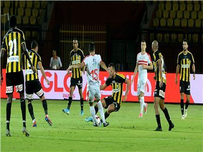 الزمالك يتصدر جدول الدوري بعد الفوز على المقاولون العرب بهدفين مقابل هدف