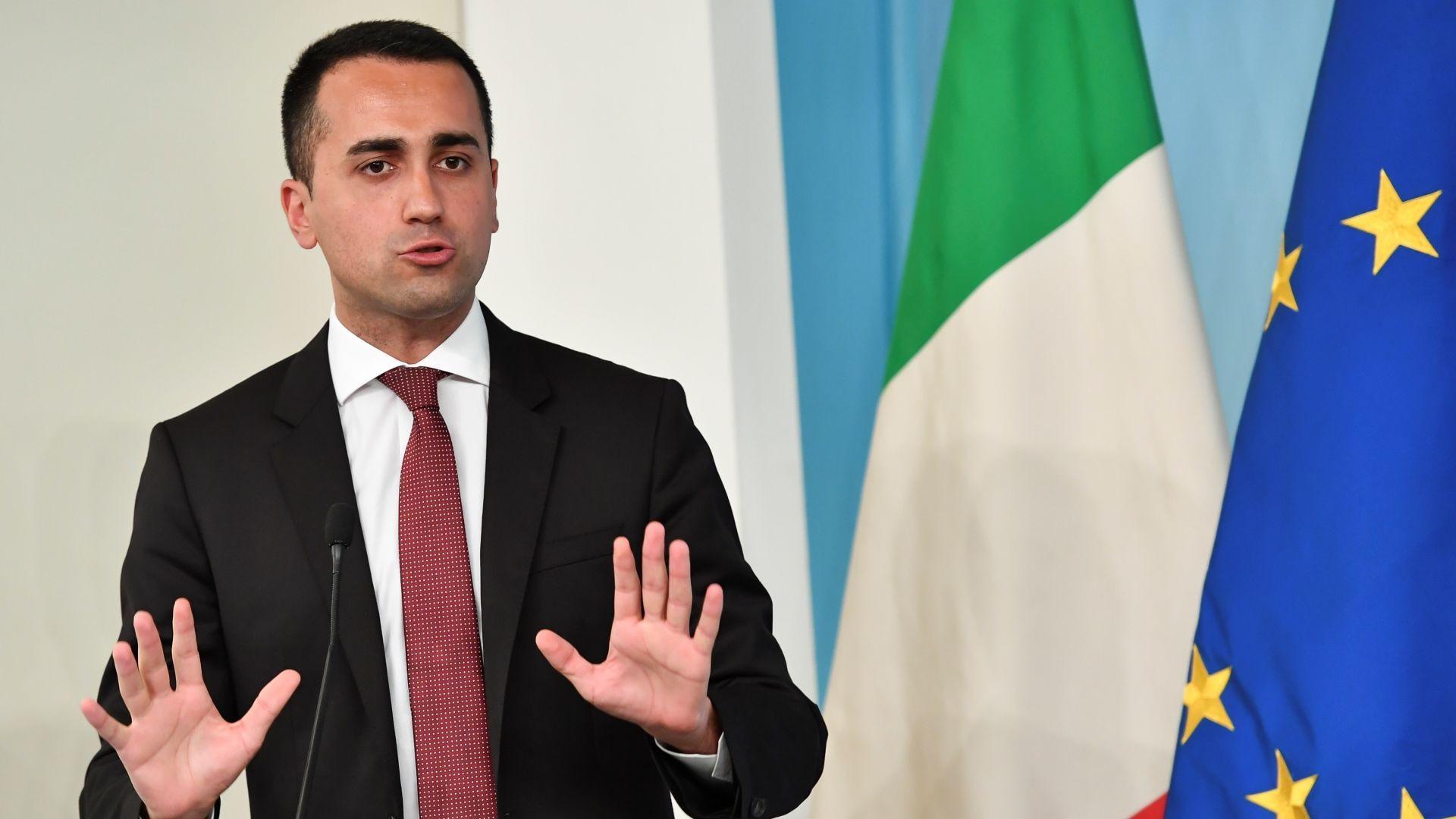 وزير الخارجية الإيطالي: منع تصدير الأسلحة إلى تركيا رسميًا خلال ساعات