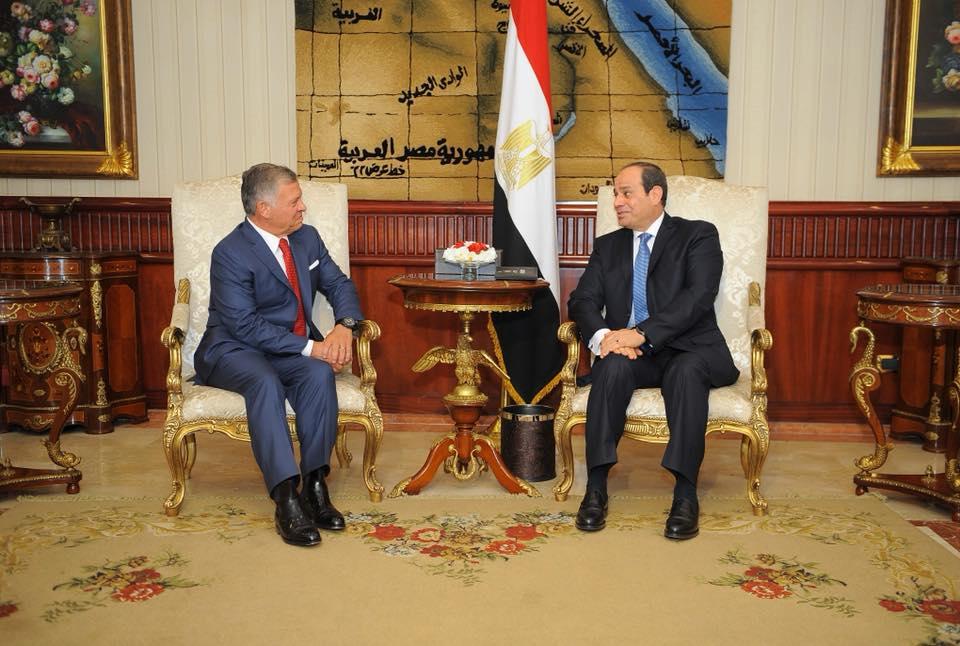 الرئيس السيسي يعقد اليوم مباحثات مع العاهل الأردني في قصر الاتحادية