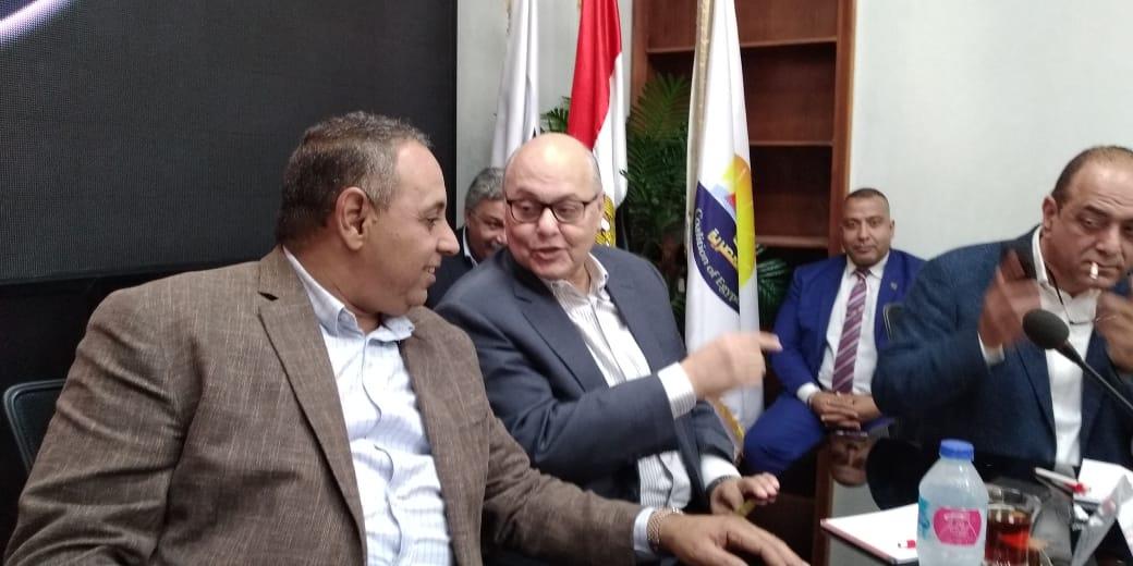 صور   موسي مصطفي موسي : نثق في القيادة السياسية