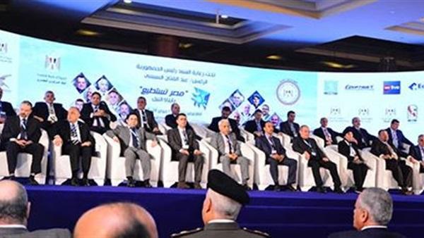 بدء توافد المشاركين في مؤتمر مصر تستطيع بمركز المنارة