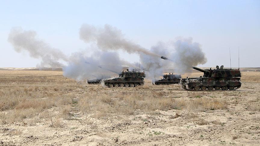 المدفعية التركية تستهدف قرية النويحات بريف الحسكة السورية