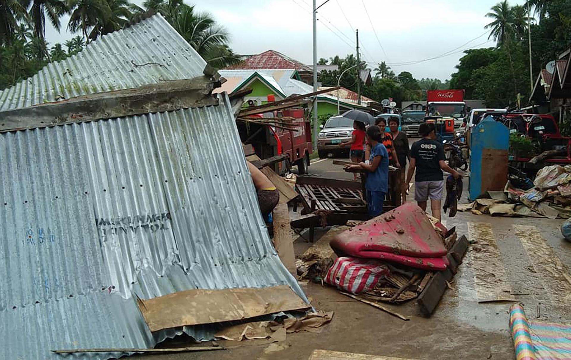 مصرع 5 أشخاص وإصابة آخرين جراء زلزال جنوبي الفلبين