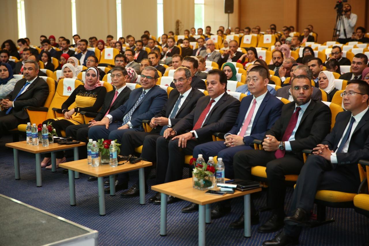 وزير التعليم العالي يشارك في فعاليات المؤتمر السنوي الأول لبنك هواوي للمواهب