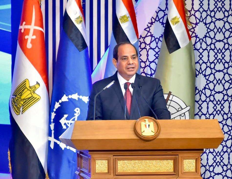 كلمة الرئيس السيسي بالندوة التثقيفية للقوات المسلحة تتصدر عناوين الصحف