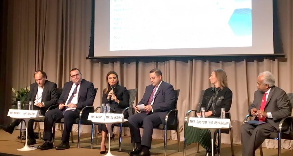 سحر نصر تشارك بجلسة حول الجيل القادم من الإصلاحات فى الشرق الأوسط وشمال أفريقيا