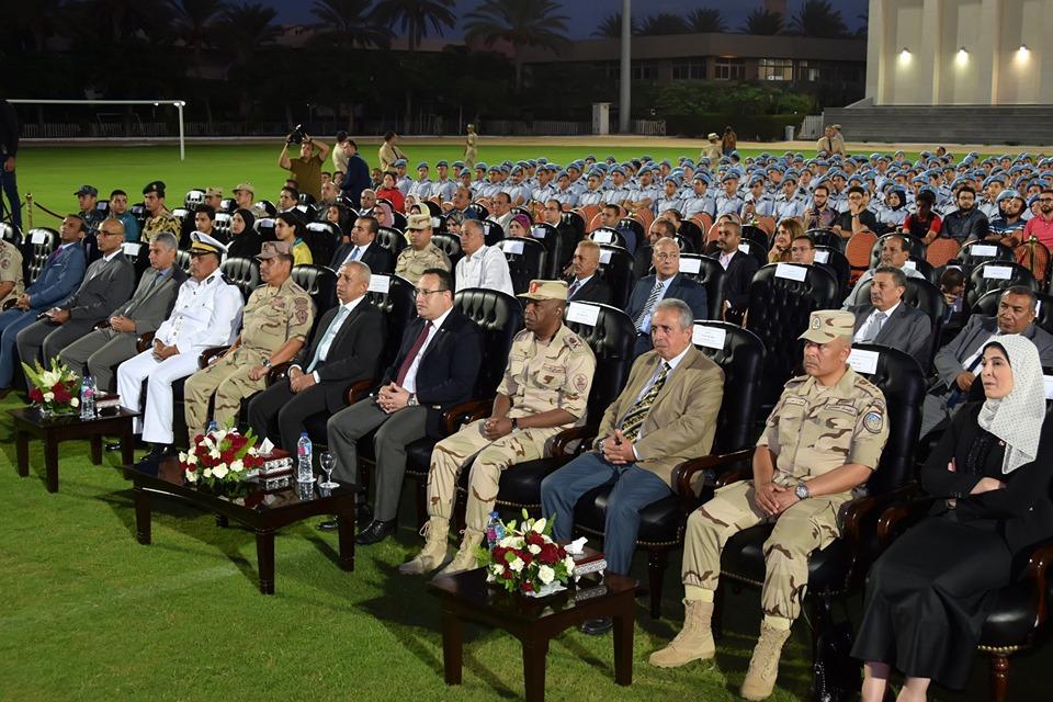 القوات المسلحة تنظم ندوة تثقيفية لطلبة الأكاديمية العربية بالإسكندرية