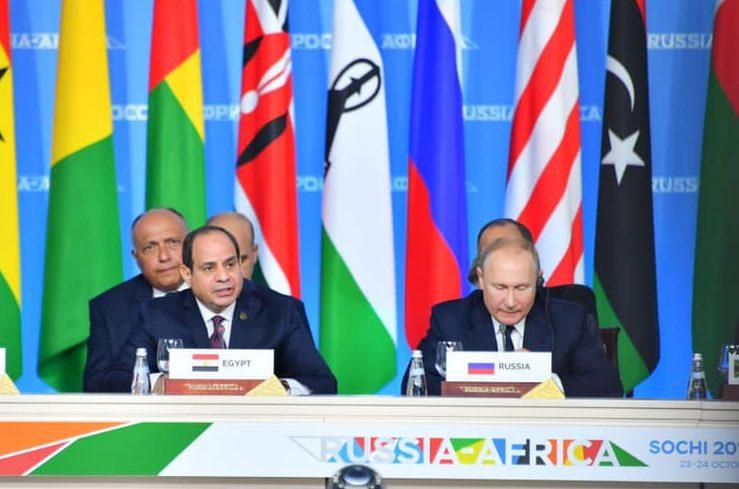 فيديو | نص كلمة الرئيس السيسي في المؤتمر الصحفي الختامي لقمة «أفريقيا – روسيا»