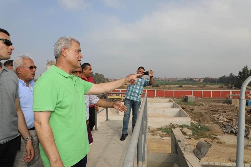 صور | محافظ المنوفية يفتتح محطة رفع العراقية الفرعية بالشهداء بتكلفة تقديرية 33 مليون جنية