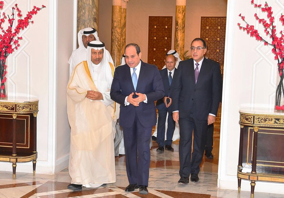 الصحف الكويتية تبرز تصريحات الرئيس السيسي حول ارتباط أمن الخليج ومصر