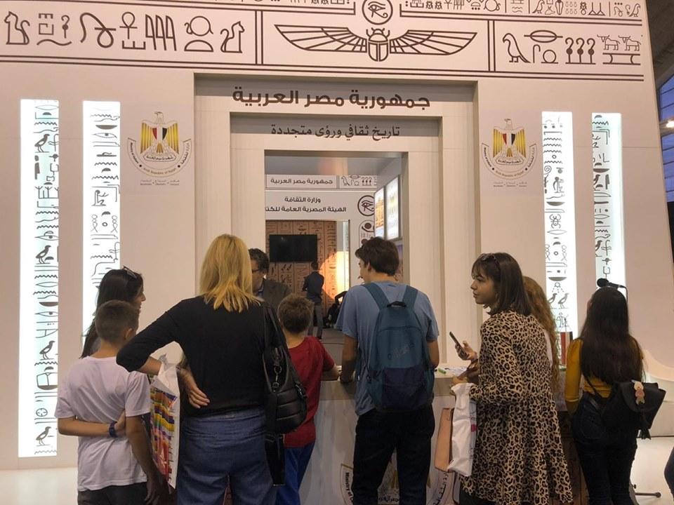 صور   المعارض الخارجية تعيد الكتاب المصري إلى ساحة المنافسة العالمية