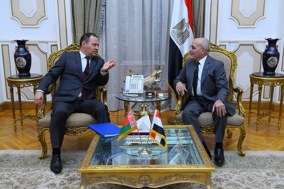 صور | مصر وبيلاروسىيا يبحثان التعاون المشترك في الصناعات العسكرية