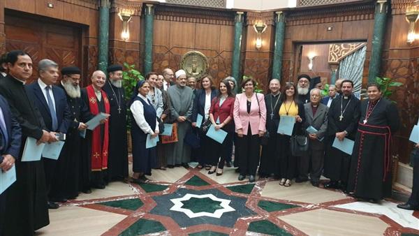 وفد من مجلس كنائس مصر يزور شيخ الأزهر