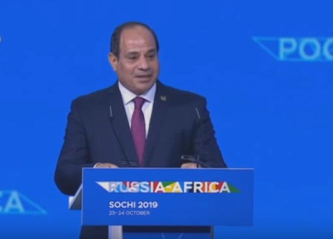 الرئيس السيسي : تطلعات شعوبنا تدفعنا جميعا للتكاتف لتحقيق آمالهم وطموحاتهم