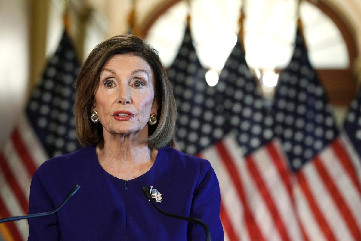 رئيسة مجلس النواب الأمريكي تدعو إلى إزالة تماثيل الكراهية من مبنى الكابيتول