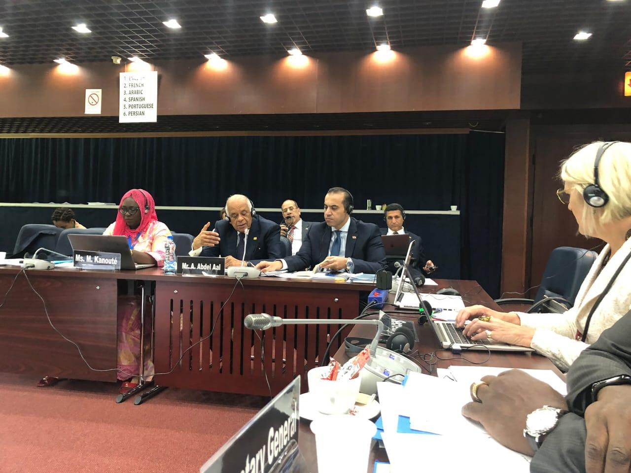 صور | علي عبدالعال يشارك فى اجتماعات اللجنة التنفيذية للبرلمان الدولى