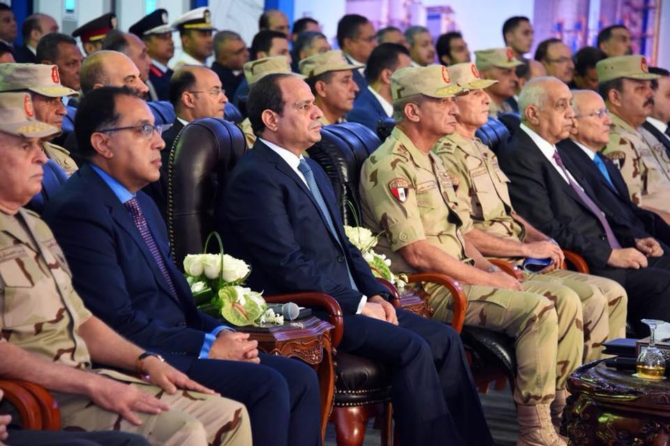 الرئيس السيسي يشاهد فيلما تسجيليا بعنوان «مستقبل واعد»