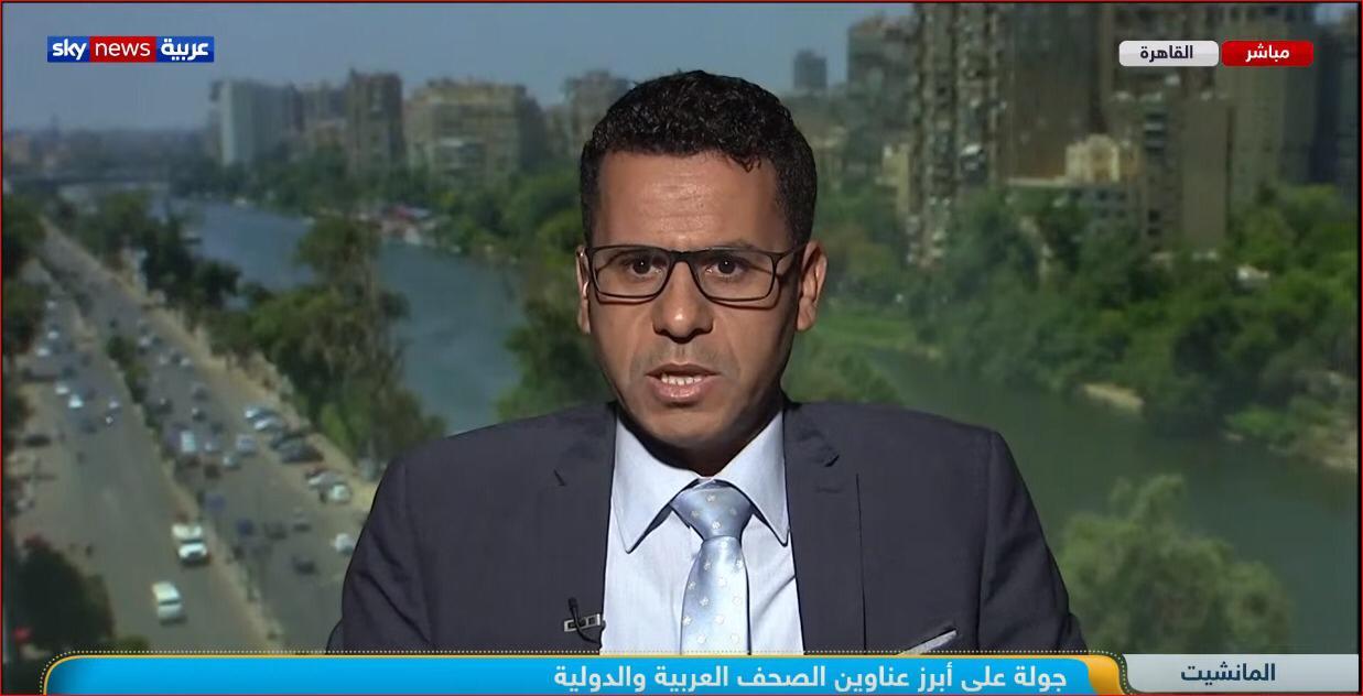 محمود الضبع لسكاى نيوز: ترامب مطمئن لمجلس الشيوخ وفضيحة نتيناهو تربك تاريخ إسرائيل