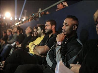 صور| محمد رمضان يفاجئ الجميع بالحضور في ختام بطولتي CIB العالم ومصر الدولية للإسكواش