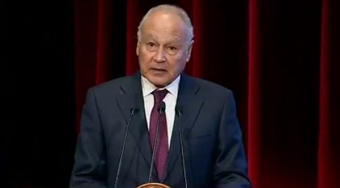 أبو الغيط: نساند لبنان وندعمه بشكل مطلق فى مواجهة تداعيات كارثة انفجار بيروت