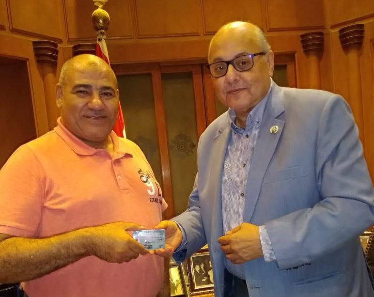 اللواء طارق عوض مساعداً لرئيس حزب الغد