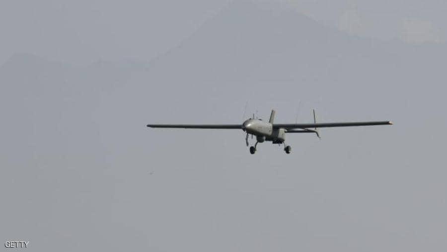 طائرة استطلاع تركية تقصف قرية الدردارة بريف رأس العين
