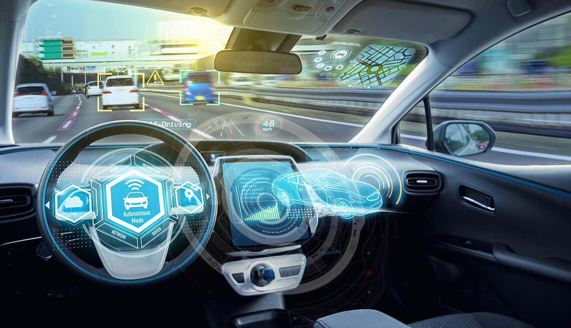 تطوير نظام يمكن السيارات ذاتية القيادة من اكتشاف العوائق وزوايا الطرق