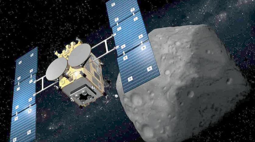 مسبار هايابوسا الياباني يغادر كويكبا لتوصيل عينات إلى الأرض 2020