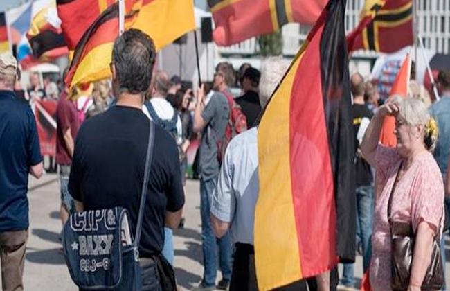 مظاهرة في العاصمة الألمانية احتجاجا على الهجوم التركي في شمال سوريا