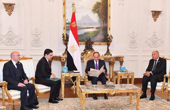 بسام راضي يكشف تفاصيل استقبال الرئيس السيسي لوزير خارجية المغرب