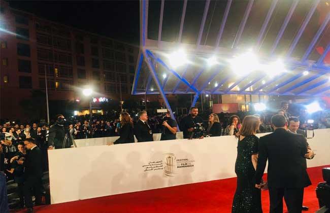بدء حفل افتتاح مهرجان مراكش الدولى للفيلم