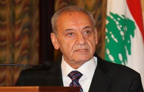 """رئيس النواب اللبناني يصر على تسمية """"الحريري"""" لرئاسة الحكومة"""