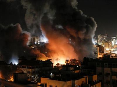 سلاح الجو الإسرائيلي يشن سلسلة غارات جديدة على أهداف بقطاع غزة